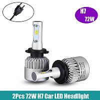 Светодиодные лампы Sigma S2 LED H7 8000Lm CSP 12-24V