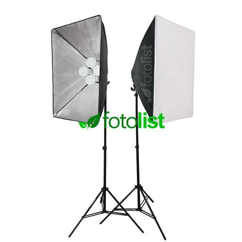Набор постоянного диодного света Arsenal LED SLH3-5070-8, 8х12w, 1200 Вт, 5500К