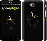 """Чехол на LG G Pro Lite Dual D686 Черная клубника """"3585c-440-4074"""""""