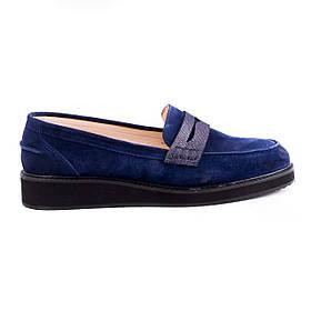 Туфли замшевые h881blue