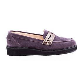 Туфли замшевые h881purple