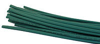 Термоусадка W-1-H, 6,0/3,0мм, зелёная, 1метр