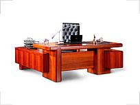 Стол руководителя Мукс европейский орех YDK 306 R