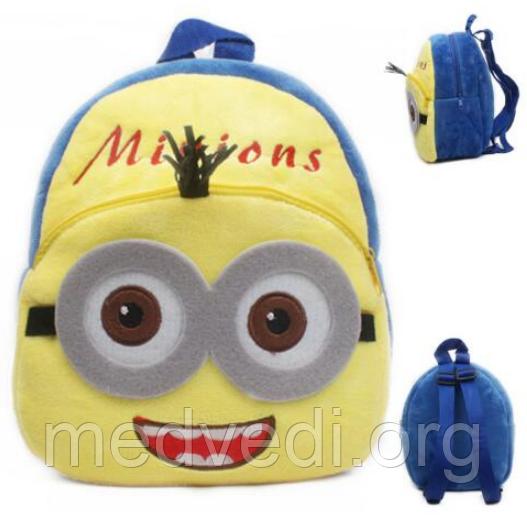 детский рюкзак миньон