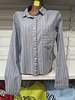 Рубашка женская из хлопка Турция S-L 217