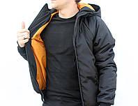 """Куртка с капюшоном """"Bizon style"""" для стильной молодежи. Практичный дизайн. Отличное качество. Код: КДН2377"""