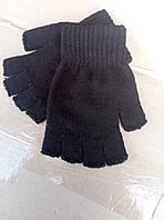 Черные качественные перчатки