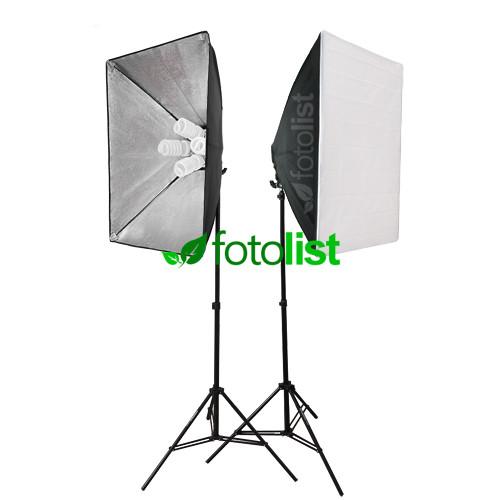 Набор постоянного студийного света с патронами для ламп Arsenal SLH3-5070-8 (без ламп)