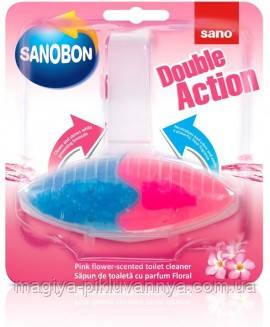Туалетный блок Sano Двойное действие С ароматом цветов 55 г,арт 991532