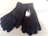 Мужские черные двойные качественные перчатки
