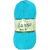 "Lanoso minti ""916""бирюза нитки для вязания"