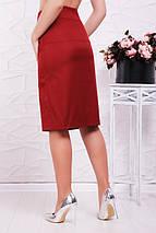 Женская юбка с пуговицами спереди (Selenafup), фото 2