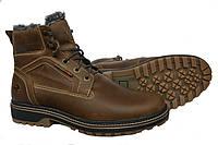Кожаные  мужские зимние ботинки Riccone , фото 1