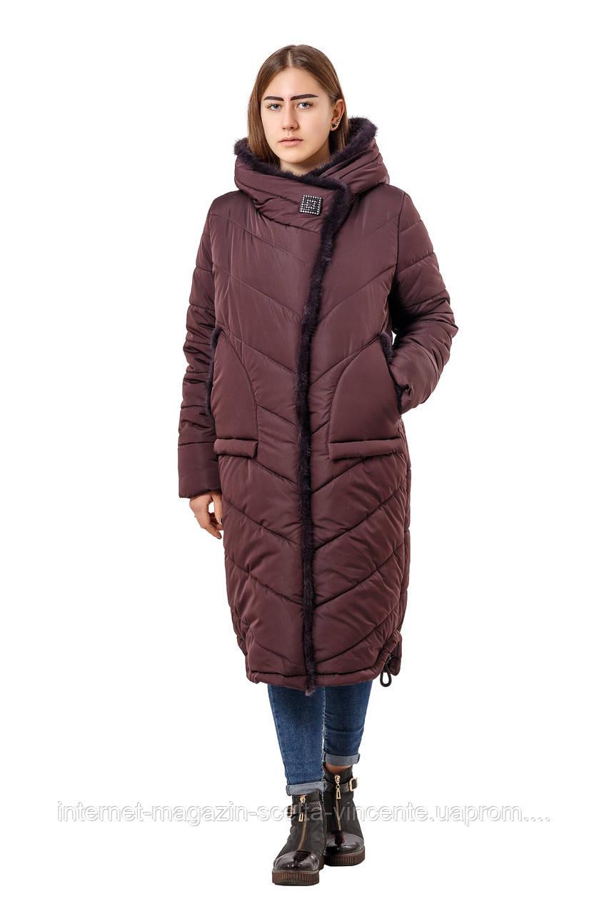 6500f16d420a Женское зимнее пальто больших размеров 48-58 SV Фрезия - интернет-магазин
