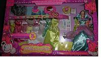 """Кукла с гардеробом11,5"""" Fajiabao 89076 с нарядами, аксес.кор 66,5*7*39,5 ш.к"""