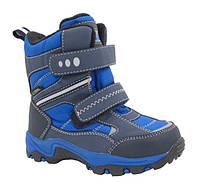 Термо ботинки зимние B&G Termo р. 25-30 R181-6021 синие