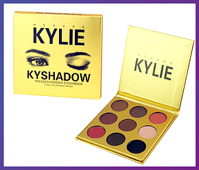 "Тени для век Кайли Дженнер ""Бронзовая Палитра"" | Kylie Jenner The Bronze Palette | 9 цветов , фото 2"