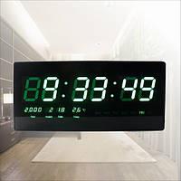 Настенные часы TL-3515 Green (меню на русском языке)