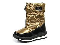 Зимние детские дутики Tom.M:C-T16-31-C, термо ботинки, для девочки