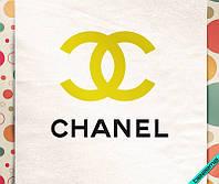 Термоаппликации на челочно-носочные изделия Chanel [7 размеров в ассортименте]