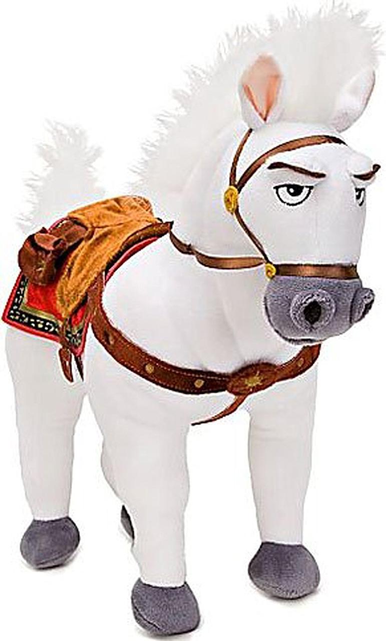 Disney Мягкая игрушка королевский конь - Максимус 35см, Рапунцель