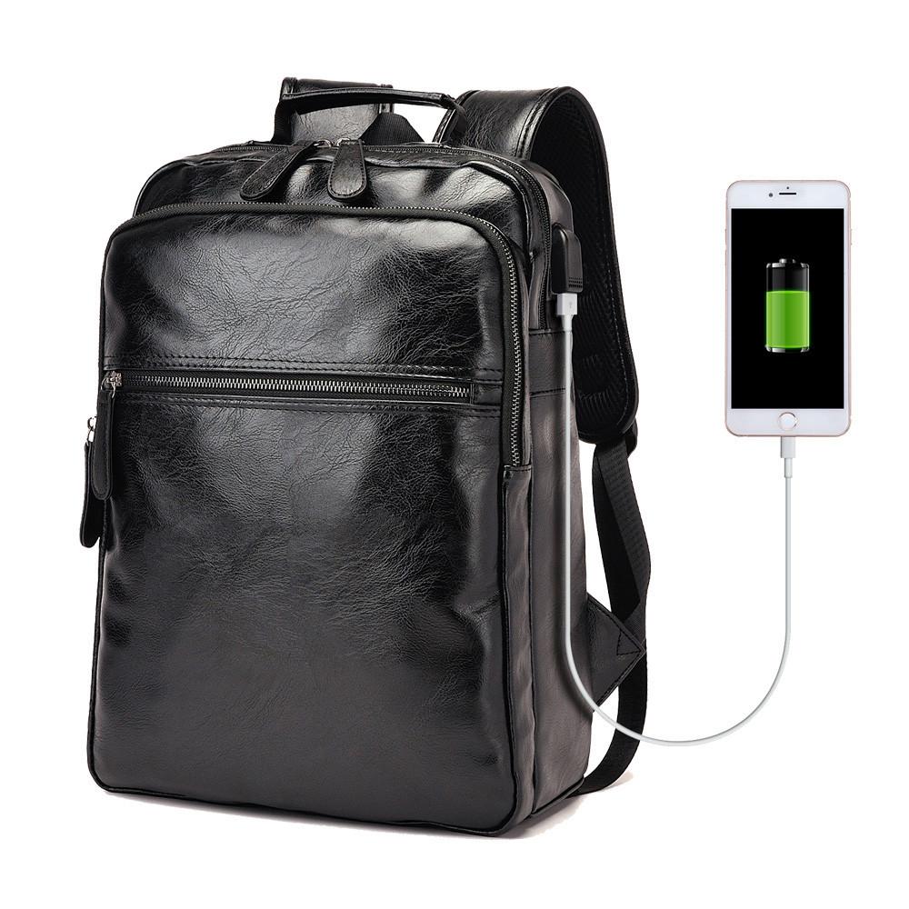 Рюкзак мужской молодежный городской AHRI (черный)  продажа, цена в ... b6a44d61d9e