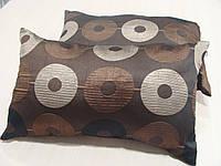 Комплект подушек  2шт шоколадные Диско 50х35см, фото 1