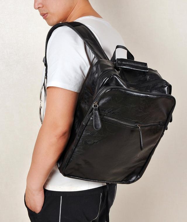 Рюкзак мужской молодежный городской AHRI (черный), цена 998,75 грн ... da12d36f10b