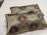 Комплект подушек  2шт коричневые Диско 55х30см, фото 1