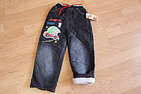 Детские джинсы для мальчика. Махра, фото 1