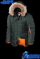 Мужская зимняя теплая куртка Braggart Arctic - 22 градусов р.  50, фото 1
