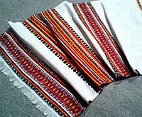 Декоративні рушнички  з орнаментом Водограй.Льон 33*85см, фото 1