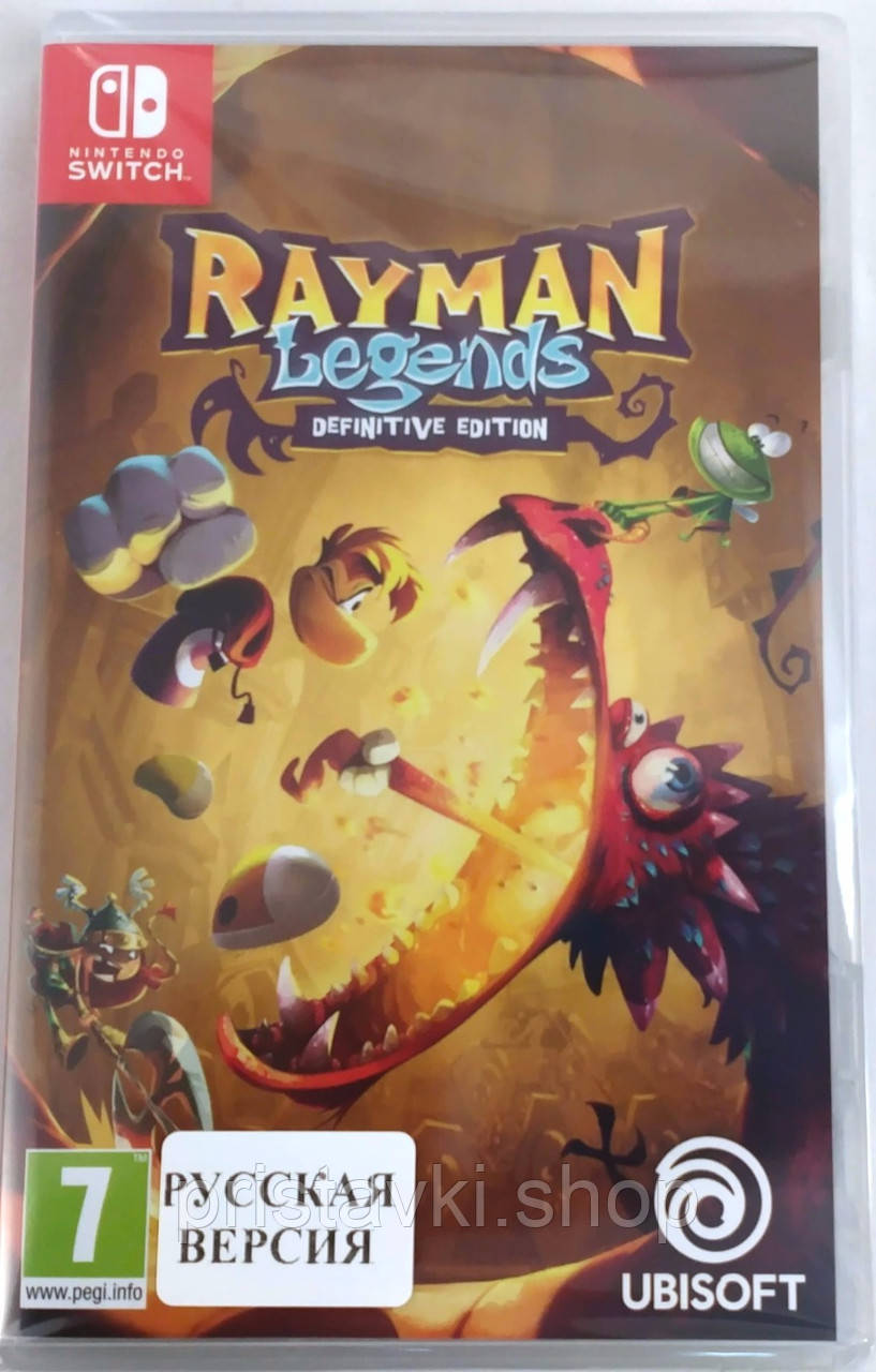 Rayman Legends Definitive Edition Switch
