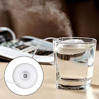 Мини компактный увлажнитель воздуха «Пончик» от USB! Маленький настольный увлажнитель для любого сосуда!