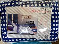 """Одеяло двуспальное """"Виктория"""" овечья шерсть, 180х215 см, расцветка в ассортименте"""