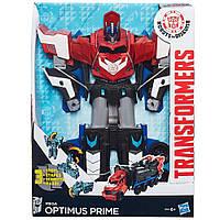 ТрансфомерыРоботы под прикрытием МегаОптимус Прайм Transformers Robots in Disguise Mega Optimus Prime Action