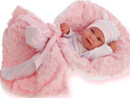 Кукла младенец в одеяле 42 см Antonio Juan 5006, фото 2