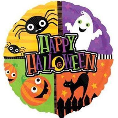 Шар фольгированный Хеллоуин 46см