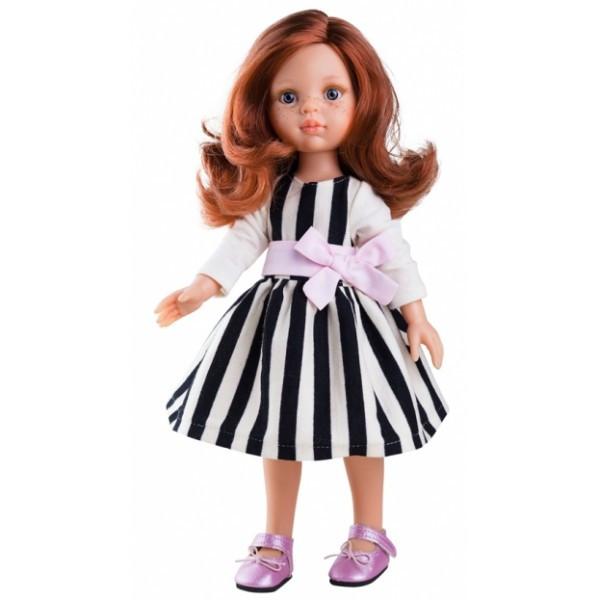 Кукла 32 см в платье с бантом Paola Reina 04445