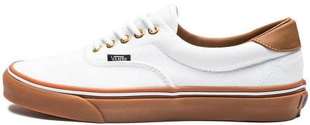 Женские кеды Vans Era C&L True White/Classic Gum, женские кеды, ванс . ТОП Реплика ААА класса., фото 2