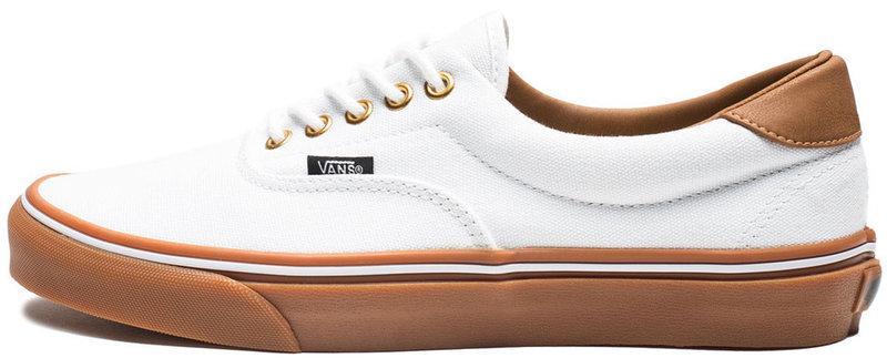 Женские кеды Vans Era C&L True White/Classic Gum, женские кеды, ванс . ТОП Реплика ААА класса.