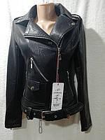 """Женская куртка из искусственной кожи """"Angmifer"""" (S-XL, норма) Китай — купить оптом по низким ценам G901"""