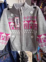 Детская качественная теплая кофта на девочек