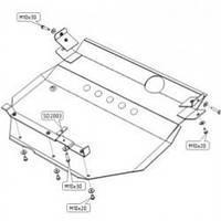 Защита двигателя ШЕРИФ для Hyundai Grandeur II
