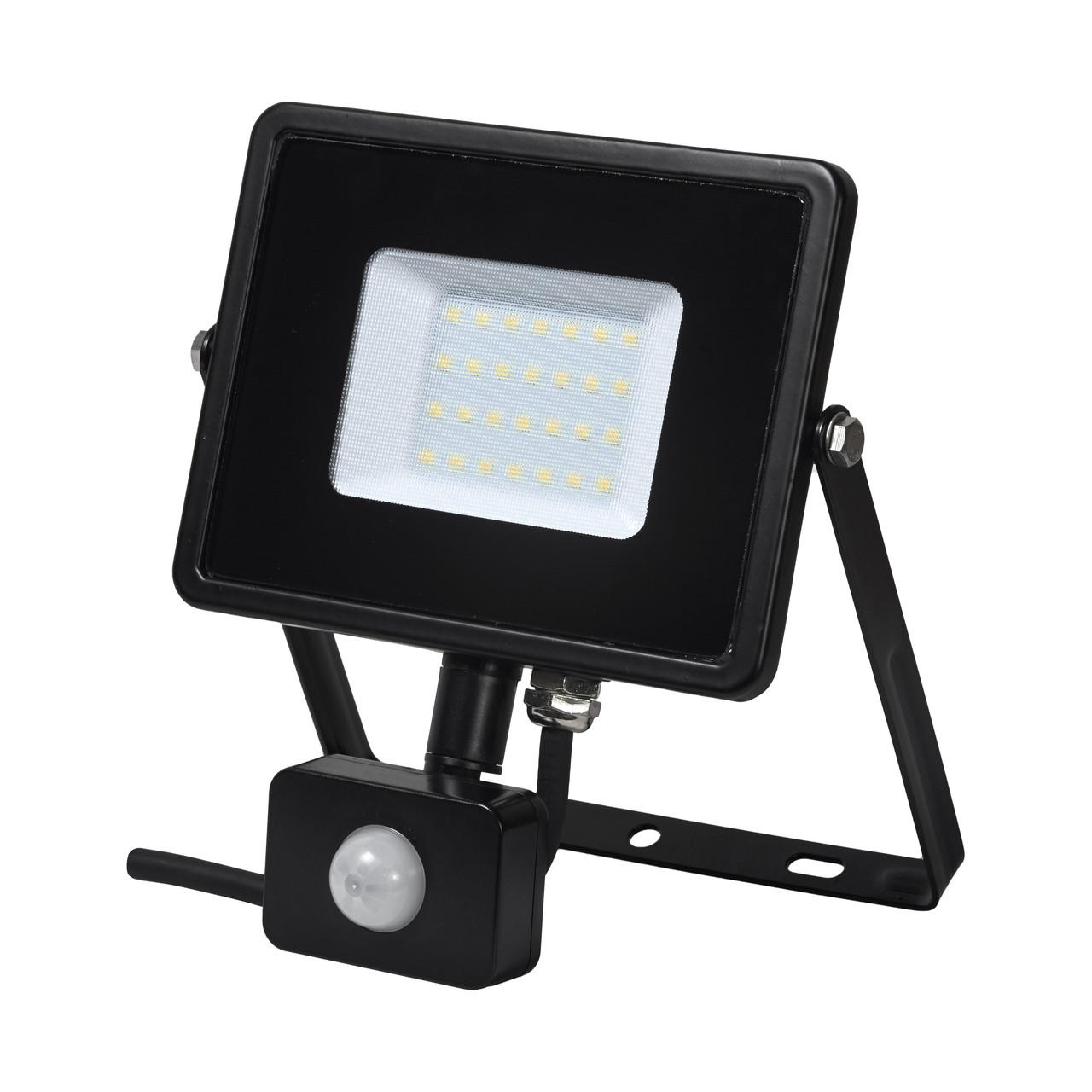 Прожектор світлодіодний DELUX FMI 10 S LED 30Вт 6500K з датчиком руху