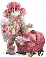 """Набор для шитья текстильных кукол  """"Ангелок"""",высотой 50см, в кор.36*28*8см"""