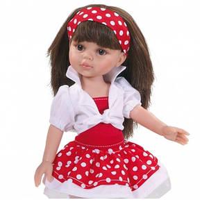 Кукла 32 см Кэрол платье в горох Paola Reina 04557, фото 2
