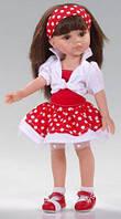 Кукла 32 см Кэрол платье в горох Paola Reina 04557