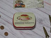 Коробочка с откидной крышкой (игольница) №15