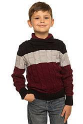 """Шерстяной свитер """"Тэйлор"""", цвет бордо,"""